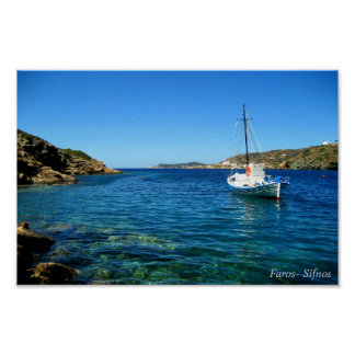 Faros- Sifnos Póster