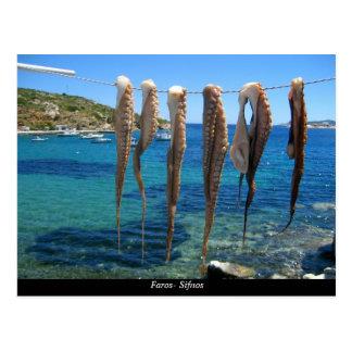 Faros- Sifnos Tarjetas Postales