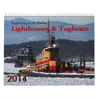 Faros y remolcadores 2014 calendarios