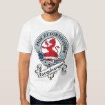 Farquharson Clan Badge Tee Shirt