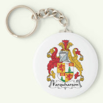 Farquharson Family Crest Keychain