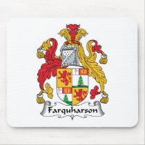 Farquharson Family Crest Mousepad