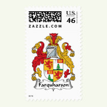 Farquharson Family Crest Stamps