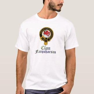 farquharson scotch crest and tartan clan name T-Shirt