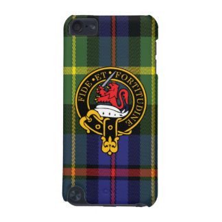 Farquharson Scottish Crest and Tartan iPod Touch5 iPod Touch (5th Generation) Cover
