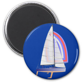 Farr 30 One Design Racing Sailboat Magnet