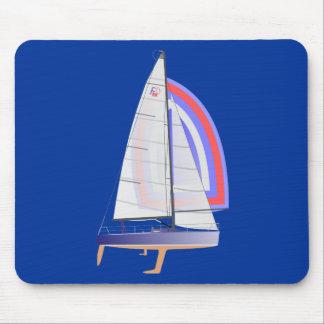 Farr 30 One Design Racing Sailboat Mousepads