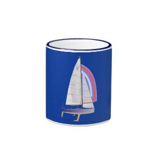 Farr 30 One Design Racing Sailboat Ringer Mug