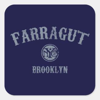 Farragut Sticker