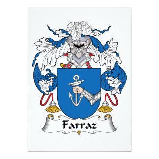 Farraz Family Crest Invites