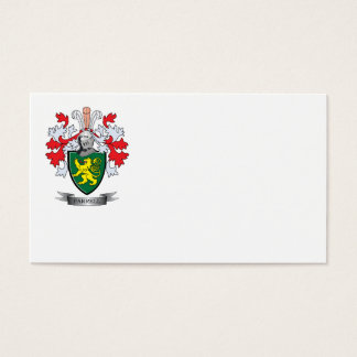 Farrell Coat of Arms Business Card