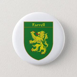 Farrell Coat of Arms/Family Crest Pinback Button