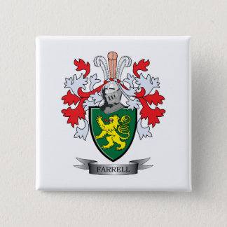 Farrell Coat of Arms Pinback Button