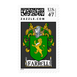 Farrell Coat of Arms Postage Stamps