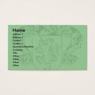 Farrell Crest Business Cards
