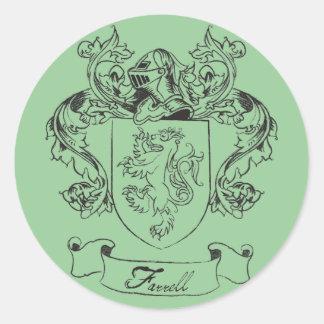 Farrell Crest Stickers