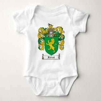 FARRELL FAMILY CREST -  FARRELL COAT OF ARMS BABY BODYSUIT