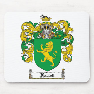 FARRELL FAMILY CREST -  FARRELL COAT OF ARMS MOUSE PAD