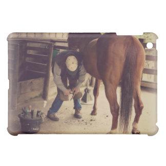 Farrier - Beautiful Horse Photo Hoof Trim Case For The iPad Mini