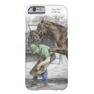 Farrier Blacksmith Shoeing Horse Barely There iPhone 6 Case