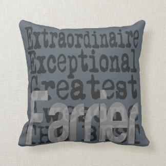 Farrier Extraordinaire Throw Pillow