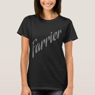 Farrier in Silver T-Shirt