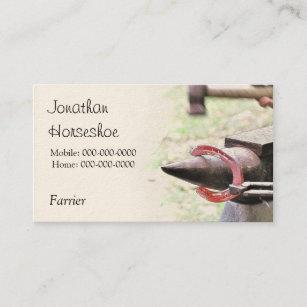 Horseshoeing Business Cards Zazzle