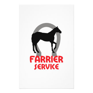 FARRIER SERVICE STATIONERY