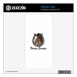 FARRIER SERVICES iPhone 4S SKINS