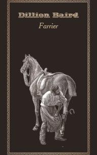 Horseshoeing business cards templates zazzle farrier shoeing horse business card colourmoves