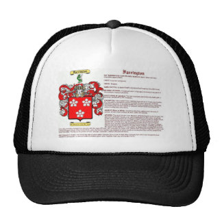 Farrington (meaning) trucker hat