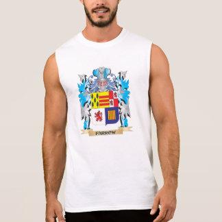 Farrow Coat of Arms - Family Crest Sleeveless Shirts