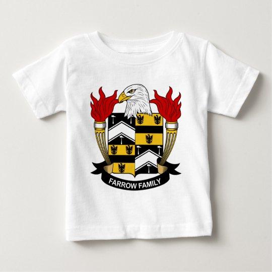 Farrow Family Crest Baby T-Shirt