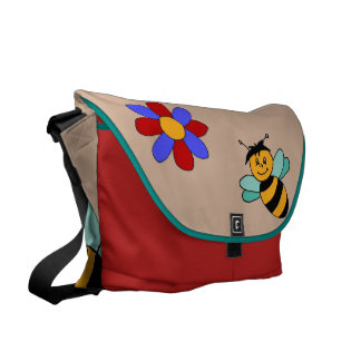 farrowed: About the flowers and the bees Courier Bag
