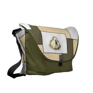 farrowed: swan chick collection messenger bag