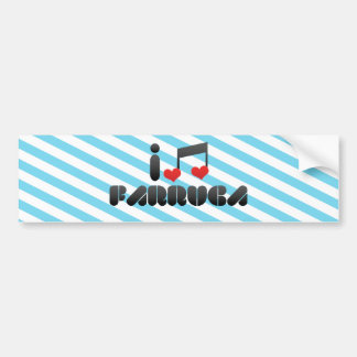 Farruca Car Bumper Sticker