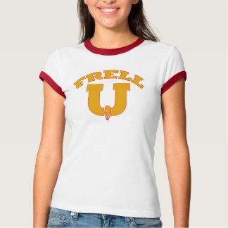 Farscape Frell U -niversity Gold T-Shirt