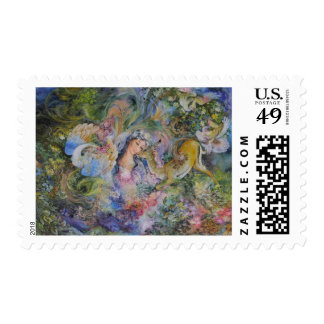 Farshchian Eternal Cycle of Life Persian Postage