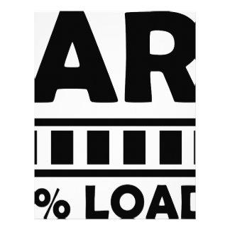 fart 100% loaded letterhead