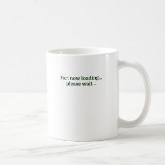 Fart ahora cargando… esperan por favor… taza