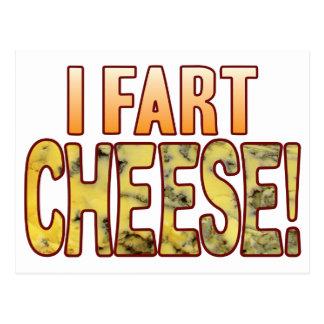 Fart Blue Cheese Postcard