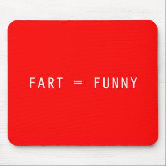 Fart = divertido tapete de ratón