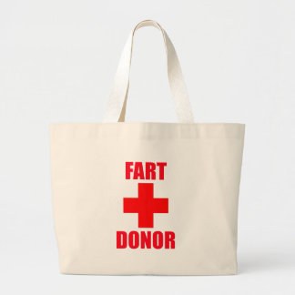 Fart Donor Tote Bag