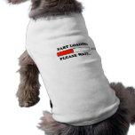 Fart el cargamento camisas de perritos
