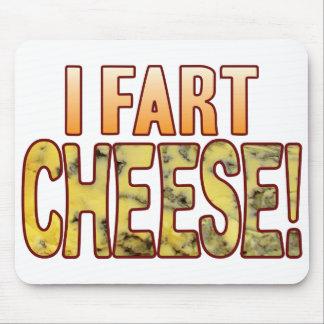 Fart el queso verde mouse pads