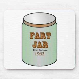Fart Jar Time Capsule 1962 Mouse Pad