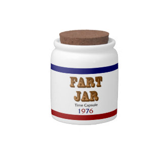 Fart Jar Time Capsule 1976 Candy Dishes