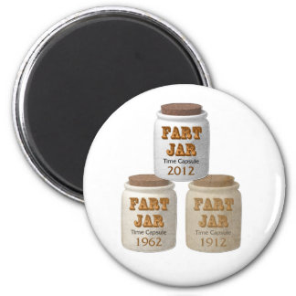 Fart Jar Time Capsules Magnet
