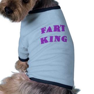 Fart King Dog T Shirt