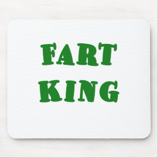 Fart King Mouse Pads